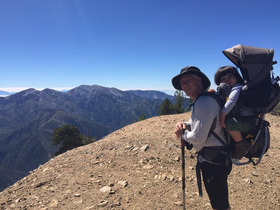 Mt. Baden Powell, California