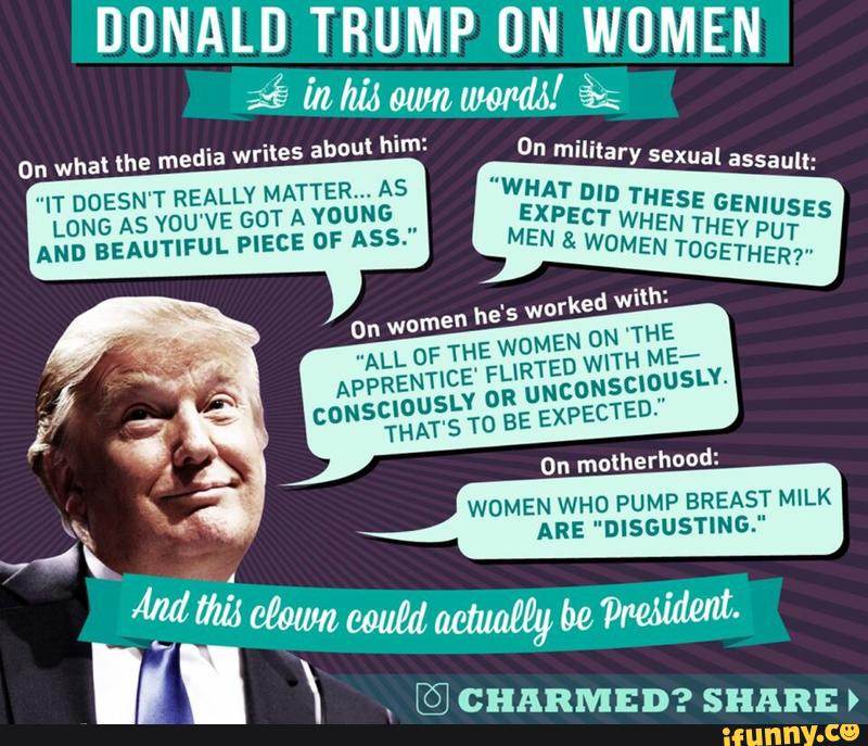 Sexist Trump Quotes