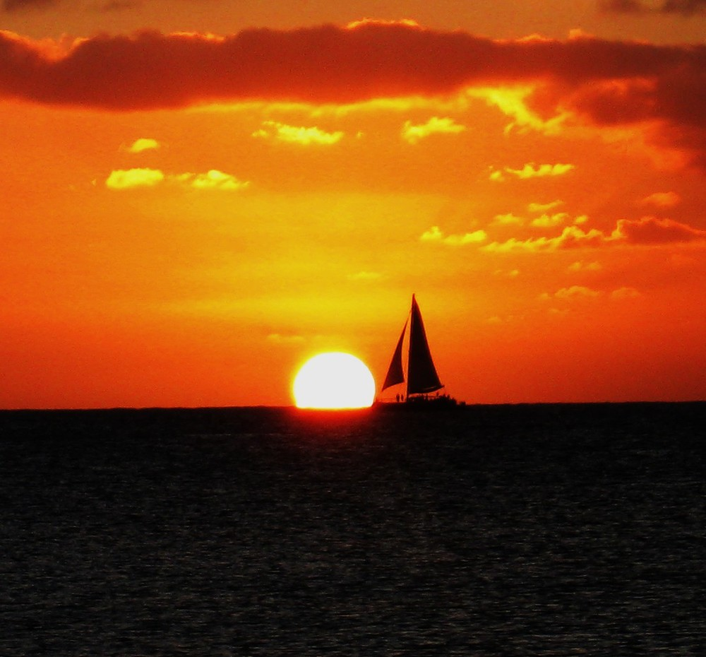 Sunset Sailing Grand Cayman