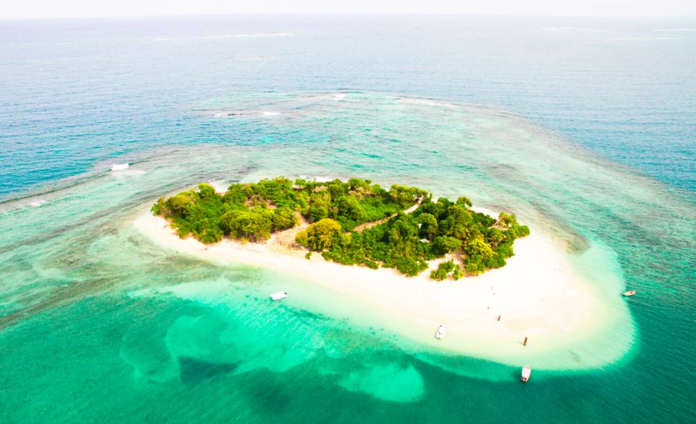 amiga island, northern haiti
