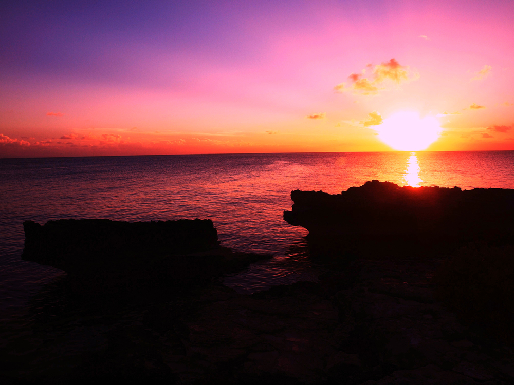 Sunset, cayman