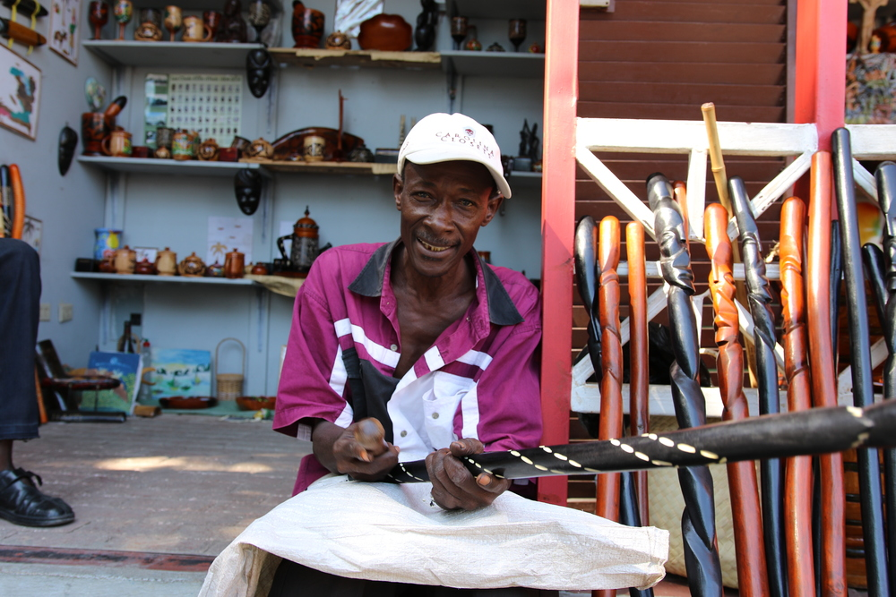 Artisan in Cap Haitien