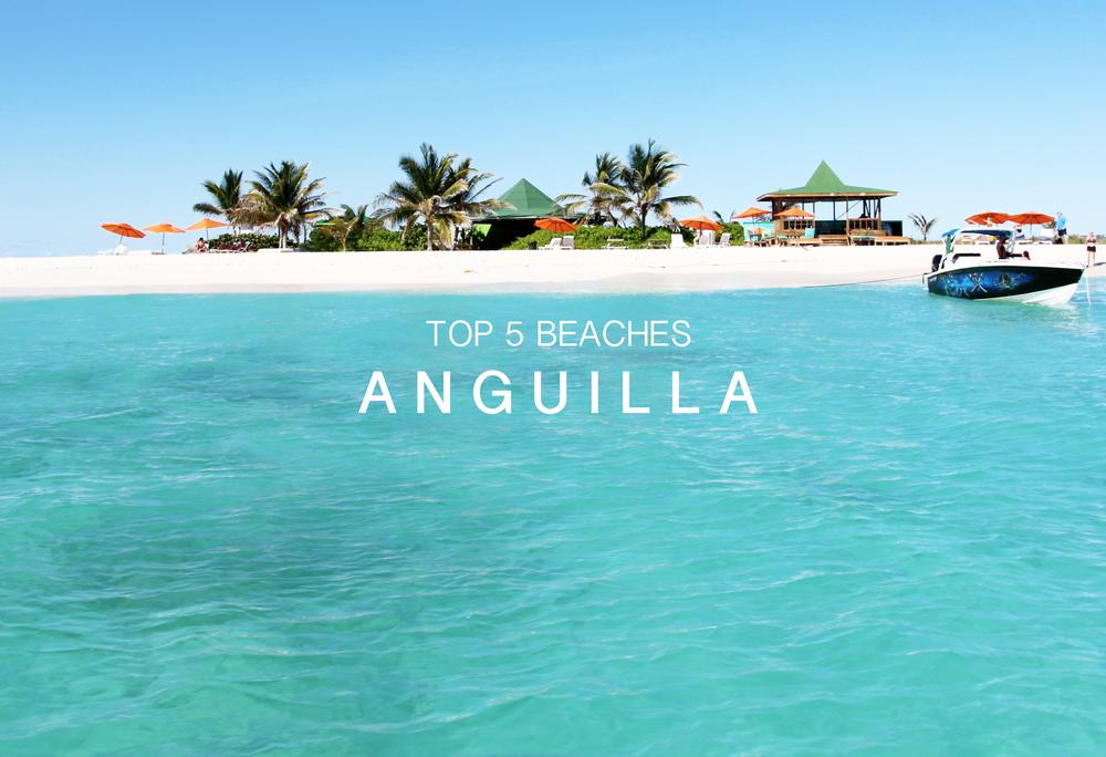 Best beaches in Anguilla