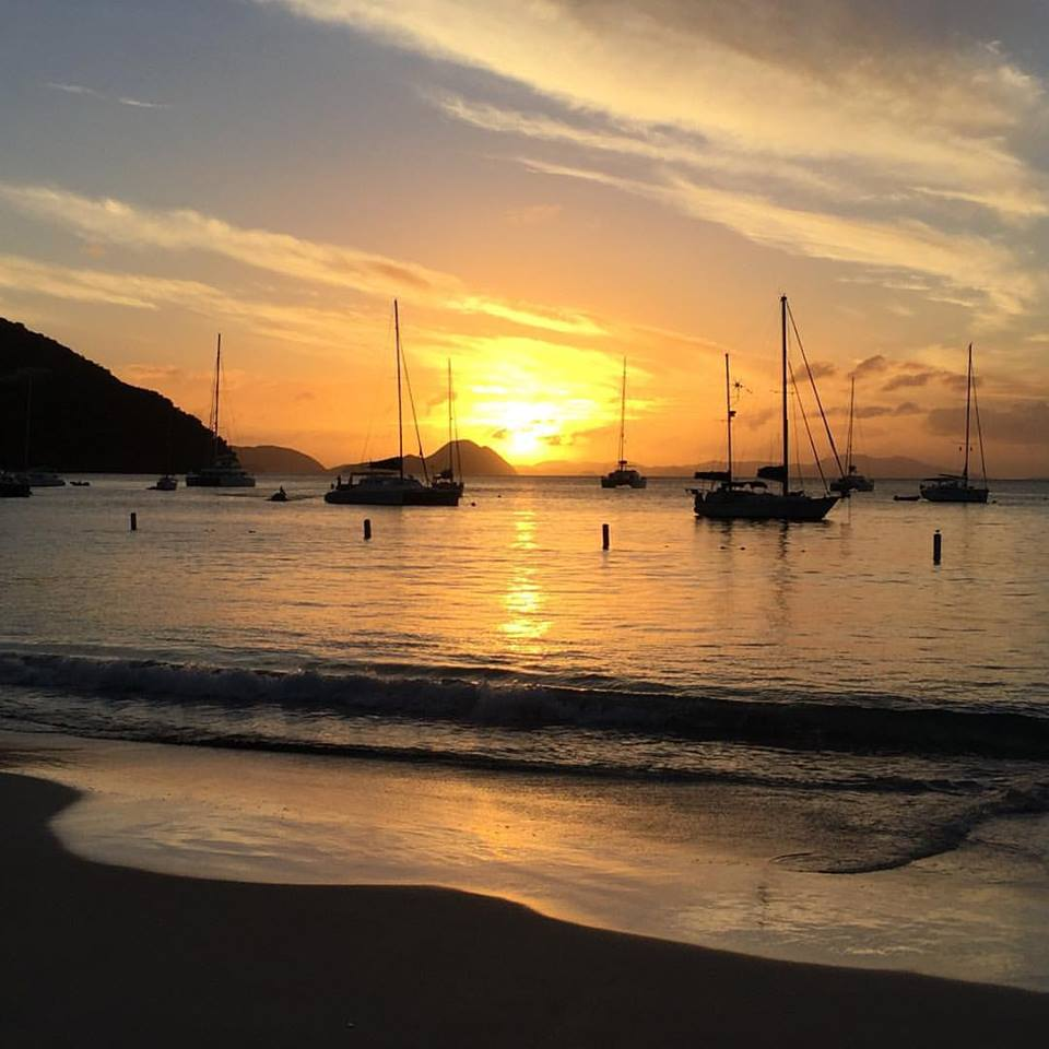 Living in the British Virgin Islands_Sunset
