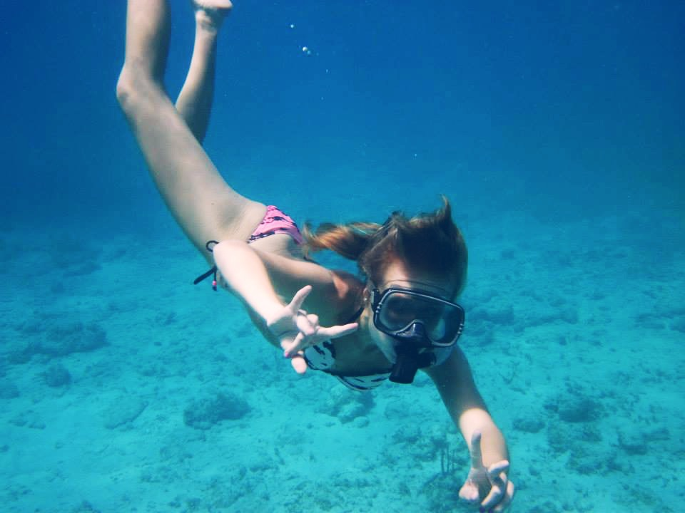 Snorkelling in the BVI