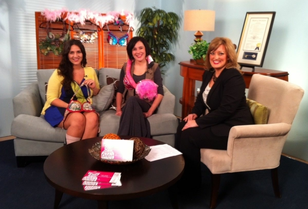 Grace Emden on the Morning Show talking about the BUST event with Founder Heather Kleinpeter.