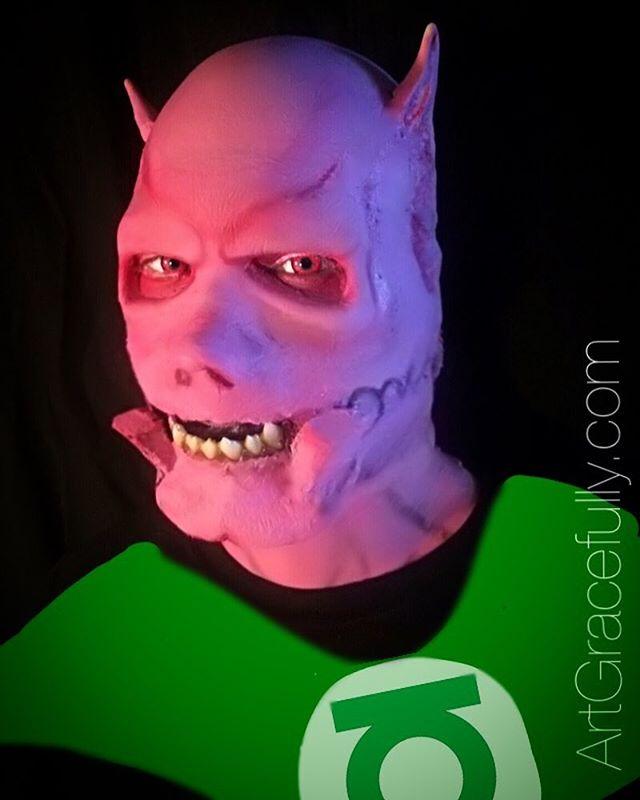 Man Crush Monday: My husband, @ryanchaselee because he lets me do things like turn him into Kilowog. 💚😁#GreenLantern #DCcomics #SFXmakeup #ArtGracefully #Kilowog #makeup #Cosplay #Halloween #inspiration