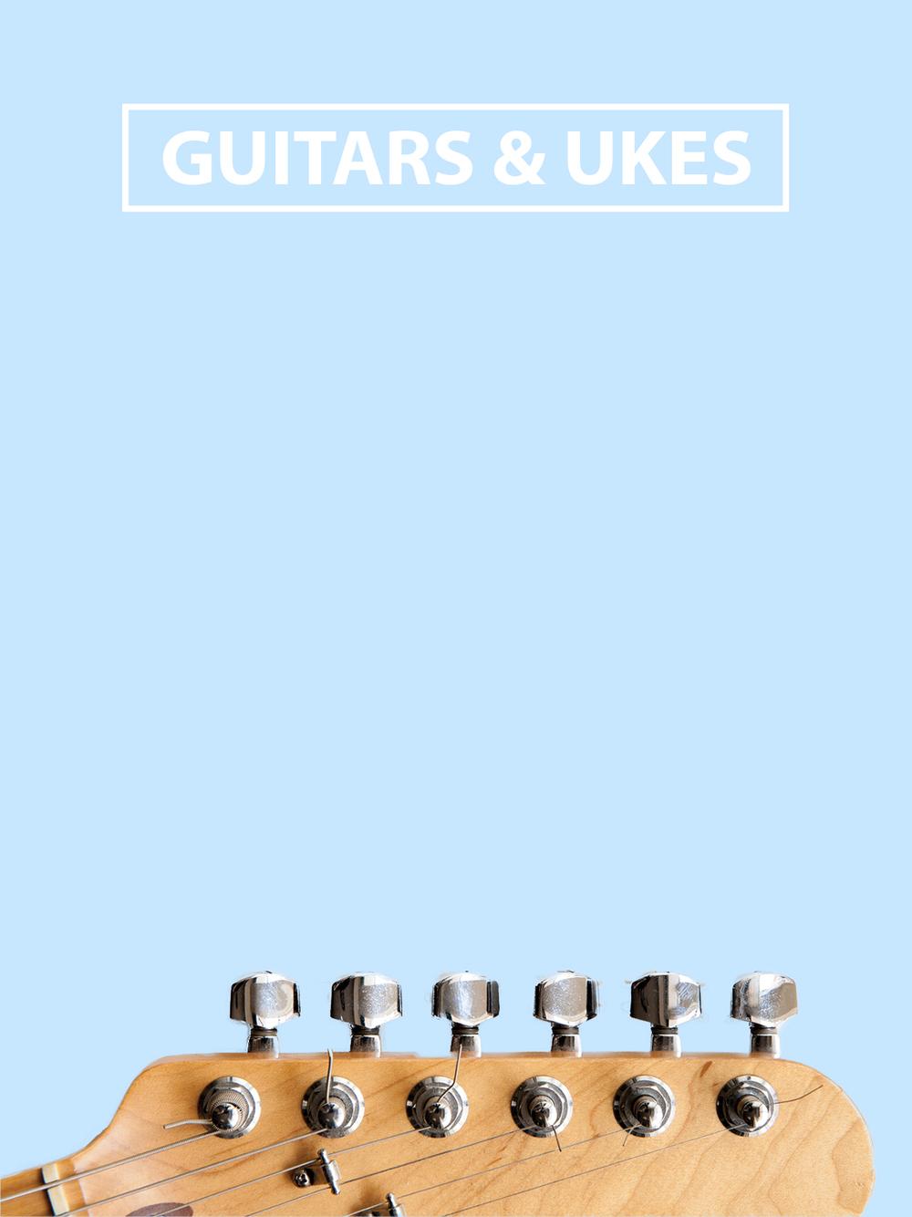 GUITARS UKULELE