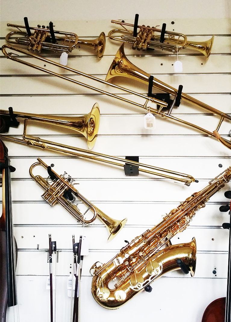 Trombones and Trumpets