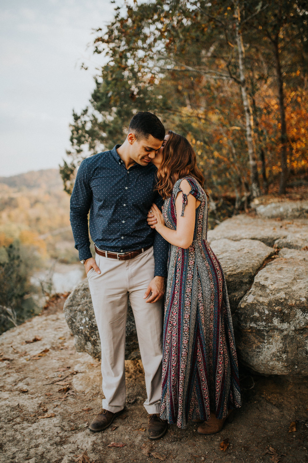 Narrows of the Harpeth Nashville Engagement Session