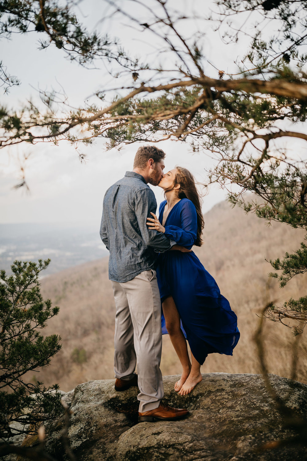Chattanooga Lookout Mountain Engagement Session