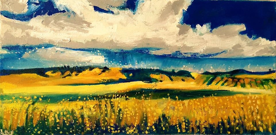"""2016 Rebecca Read """"Storm Over Clare"""""""