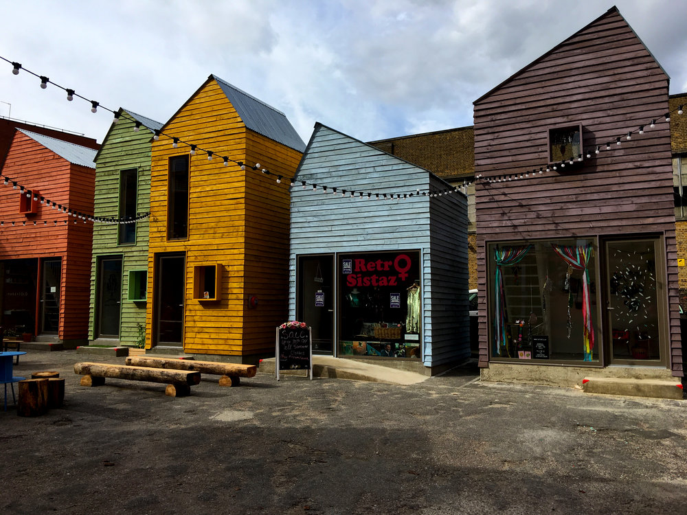 Blue House Yard, a new cooperative creative hub in Wood Green.