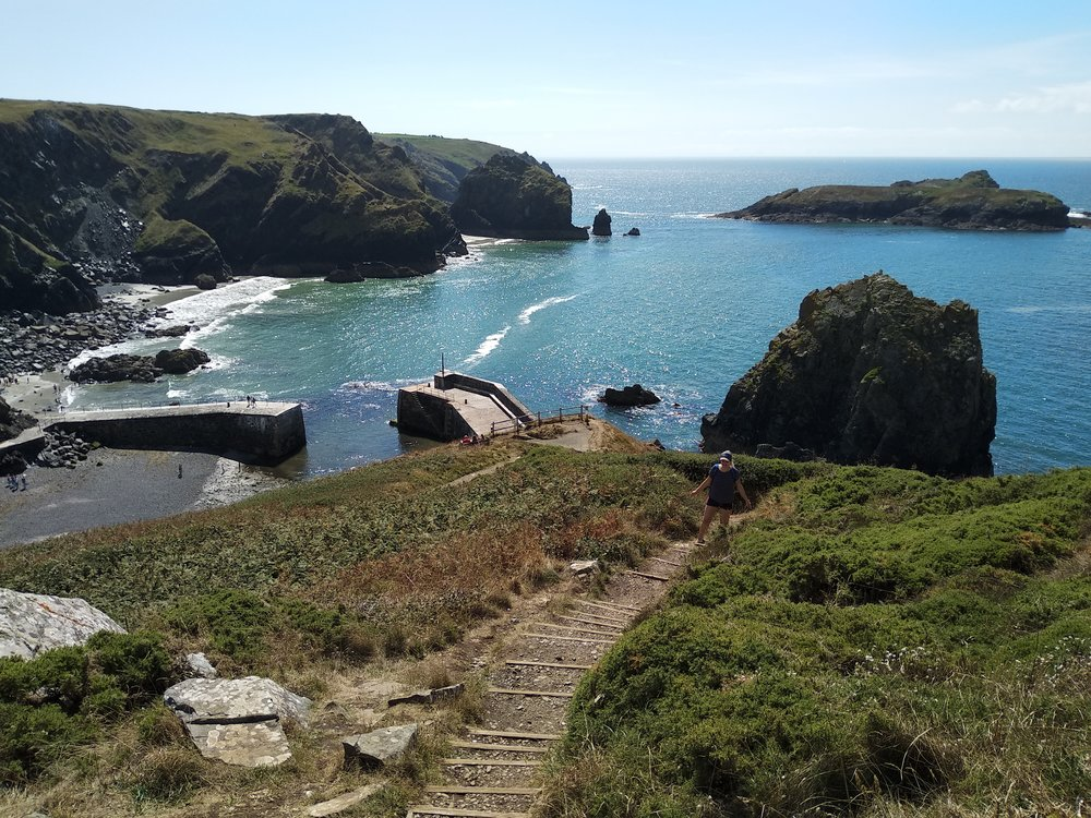 Mullion Cove. See what I mean about the whole Mediterranean thing?