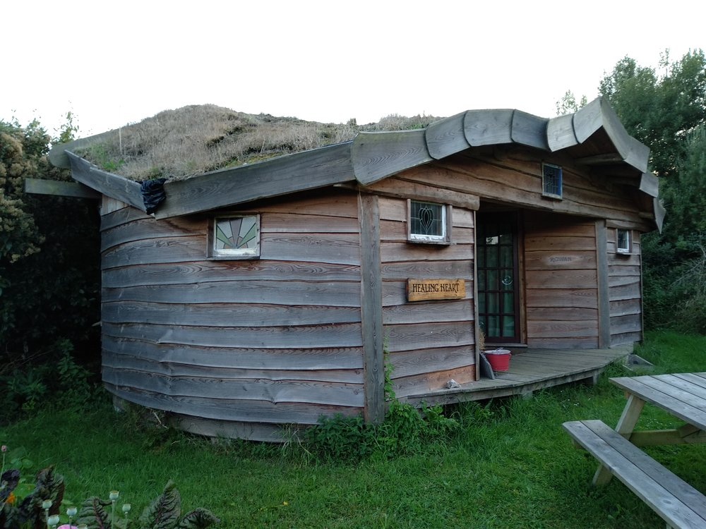 Our second week in Cornwall was spent at the Living Well Centre, an eco-retreat in the village of Sancreed.