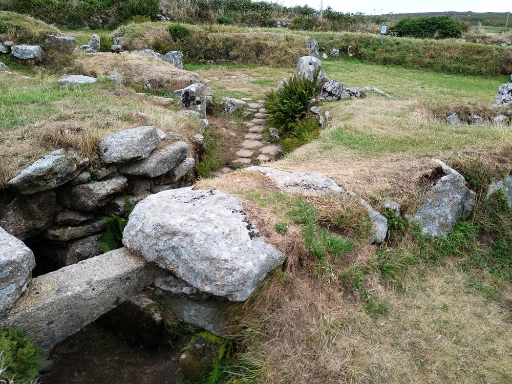 The earliest settlement at the site dates back to the Bronze Age. The foundations of these huts were used by the Romans, who inhabited the site until the end of the Roman occupation in Britain.