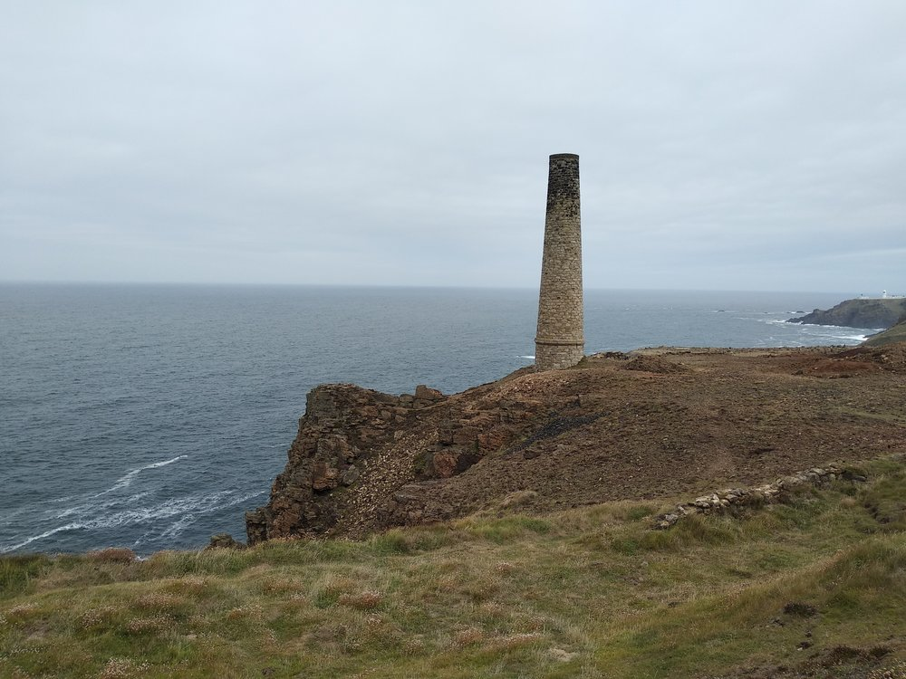 We visited the Levant mine (National Trust site) just outside of Pendeen.