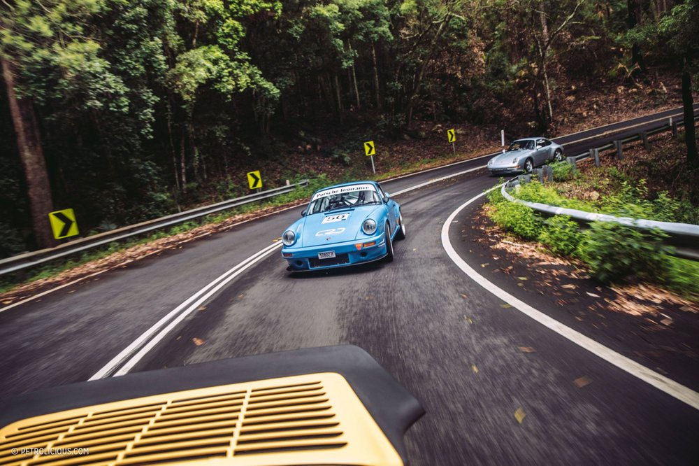 Winding through the RNP in a 911 - nice