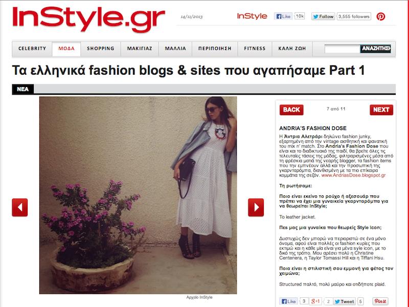 InStyle Magazine online