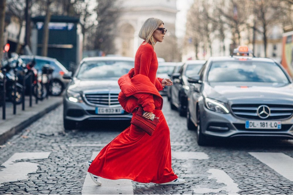 CODE RED  Don't say I didn't tell you! Paris Fashion Week Outfits #2 [Read More..]