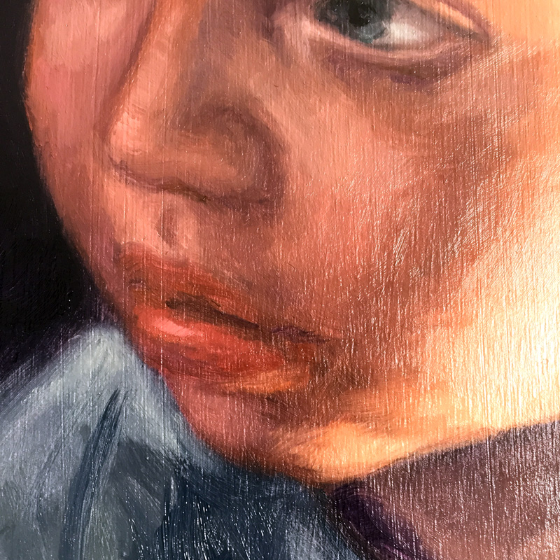 detail of a small painting I'm working on.