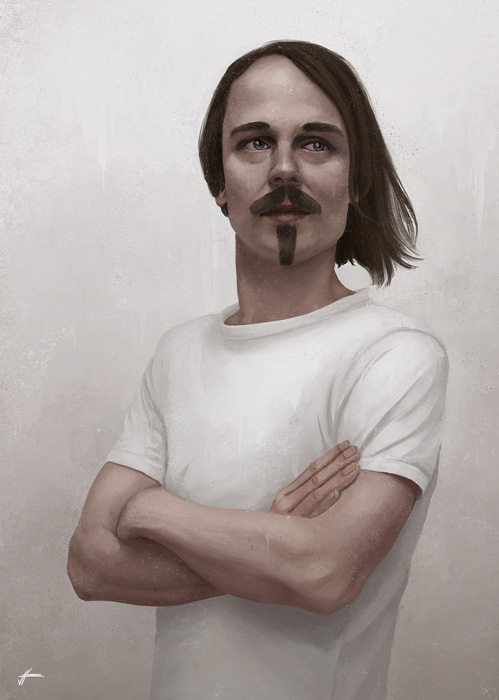 kk portrait - arnd (cloakroom).