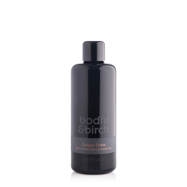 ginger brew body oil