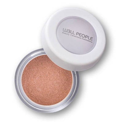 w3ll people eyeshadow- pink champagne
