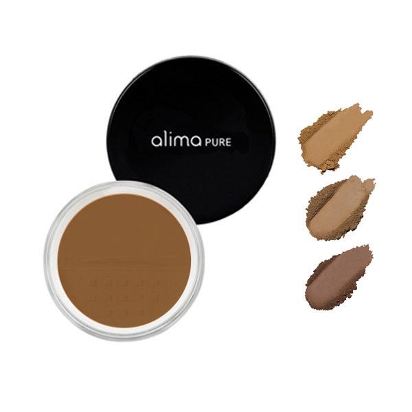alima pure powder foundation