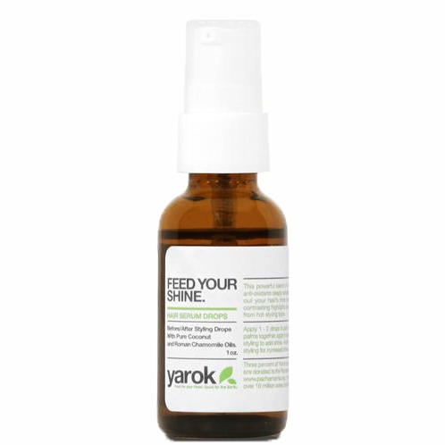 vegan + natural hair serum