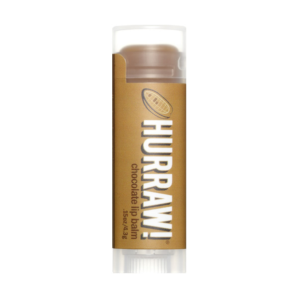 chocolate vegan + organic lipbalm*