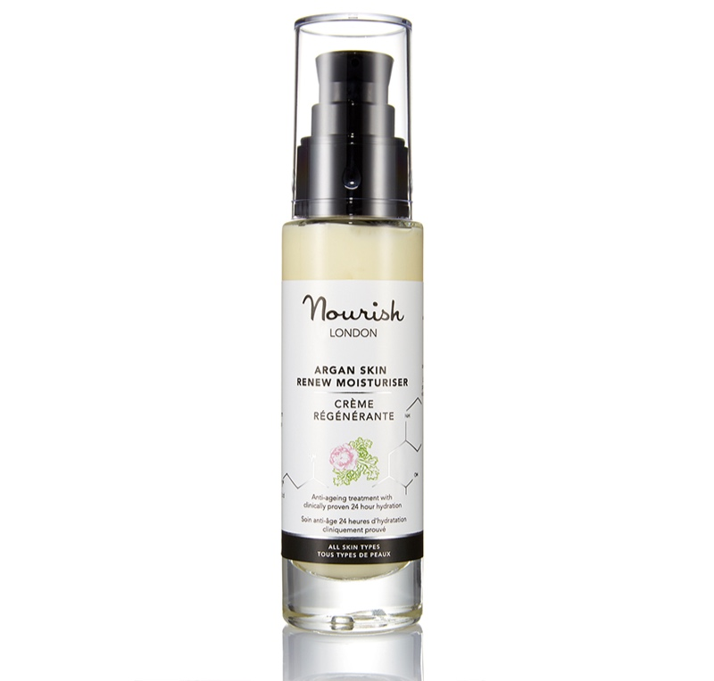 85% organic argan skin renew moisturiser*