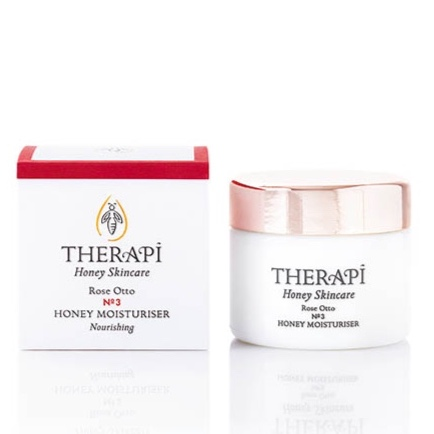 91% organic therapi rose moisturiser