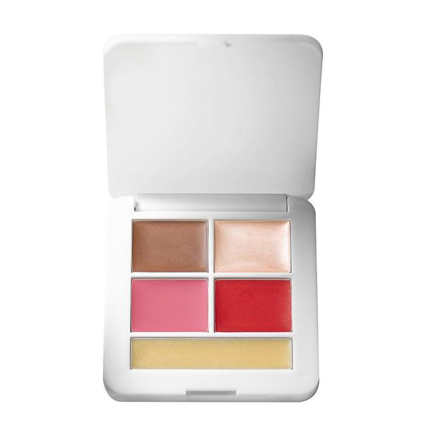 rms 'pop' set: blush, highlighters + balm