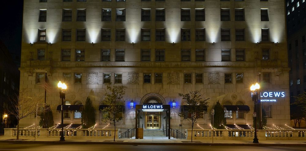 The Loews Boston is an excellent choice for families, house in the old Police Headquarters. Picture from Loews Boston.