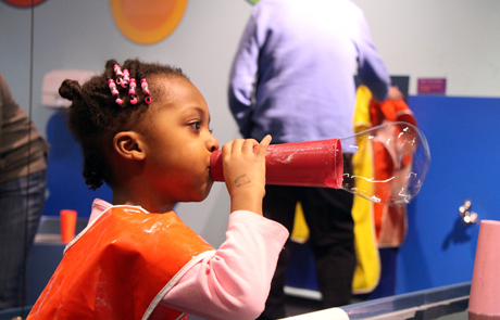 Bubbles at the Boston Children's Museum. Picture from bostonchildrensmuseum.org
