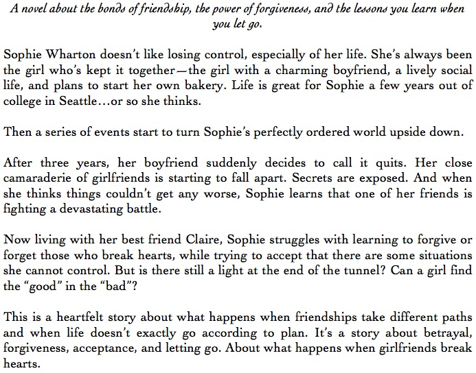 Introduction to When Girlfriends Break Hearts by Savannah Page