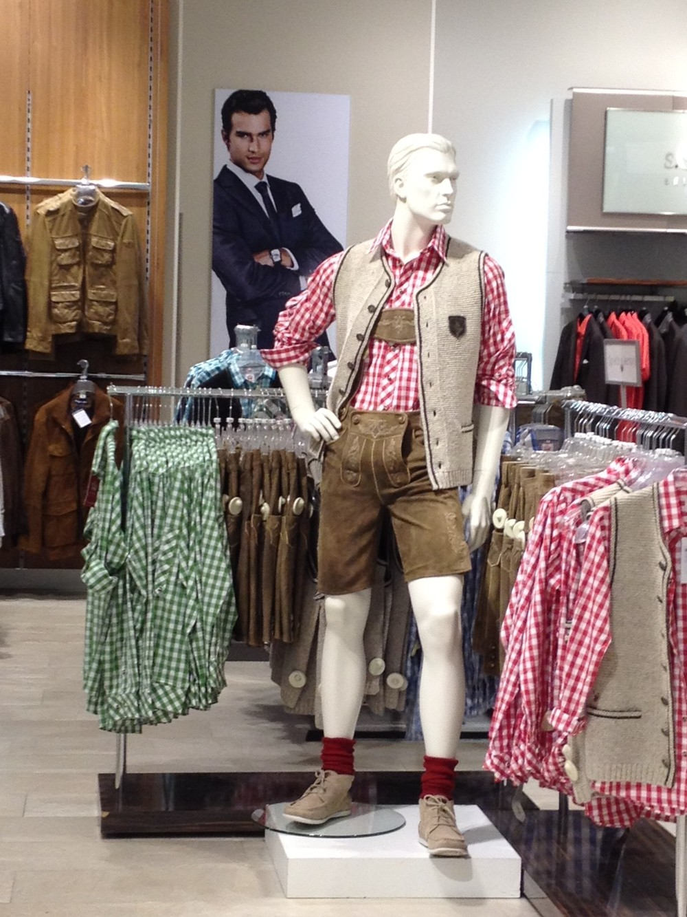 Lederhosen for Sale in Department Store - Savannah Page