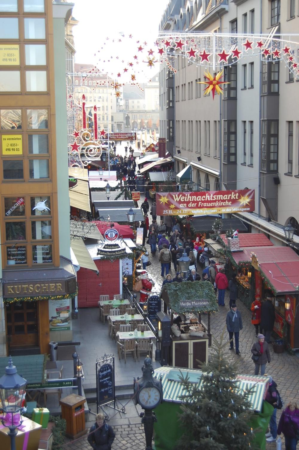 Weihnachtsmarkt Dresden, Savannah Page