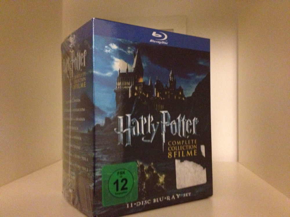 Harry Potter on BluRay - Savannah Page