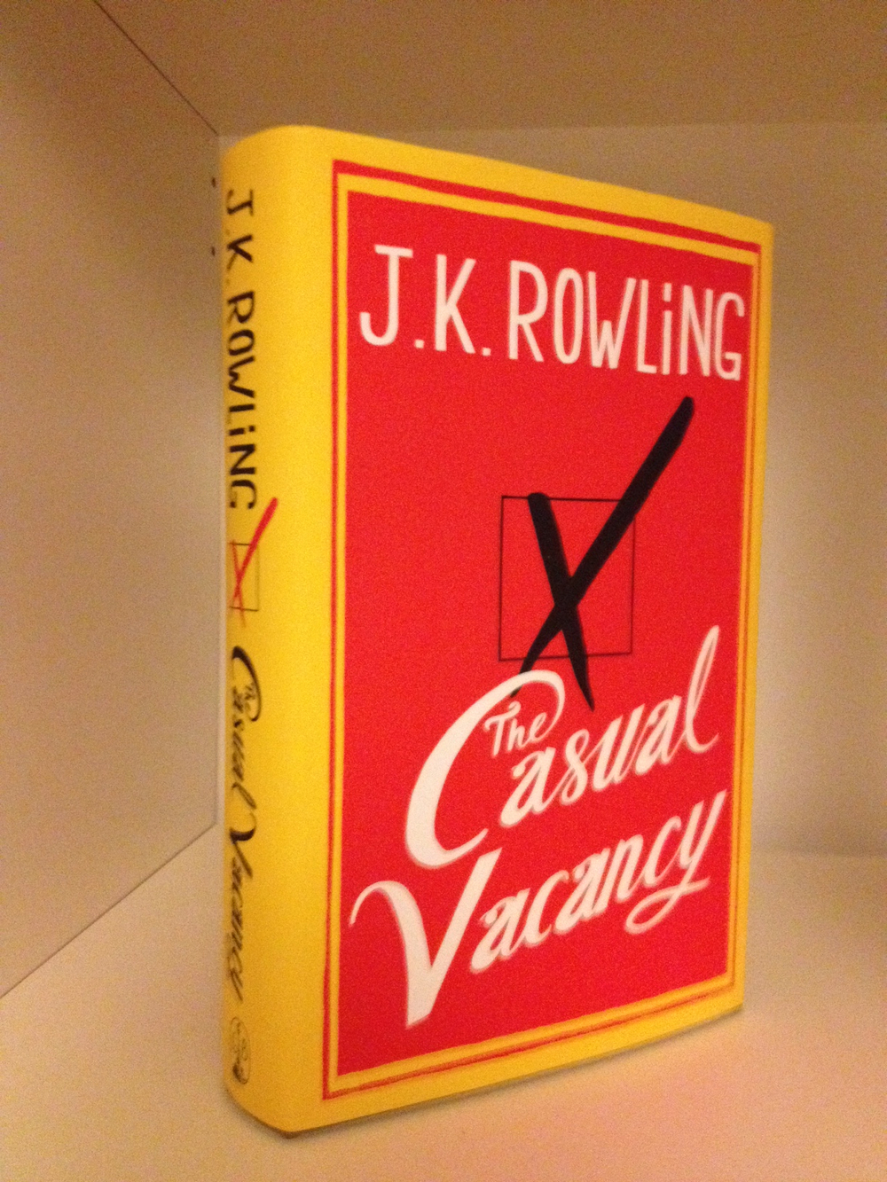 J K Rowling Book for Christmas - Savannah Page