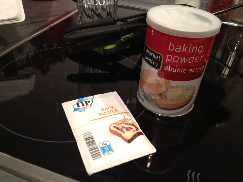 US vs German Baking Powder - Savannah Page