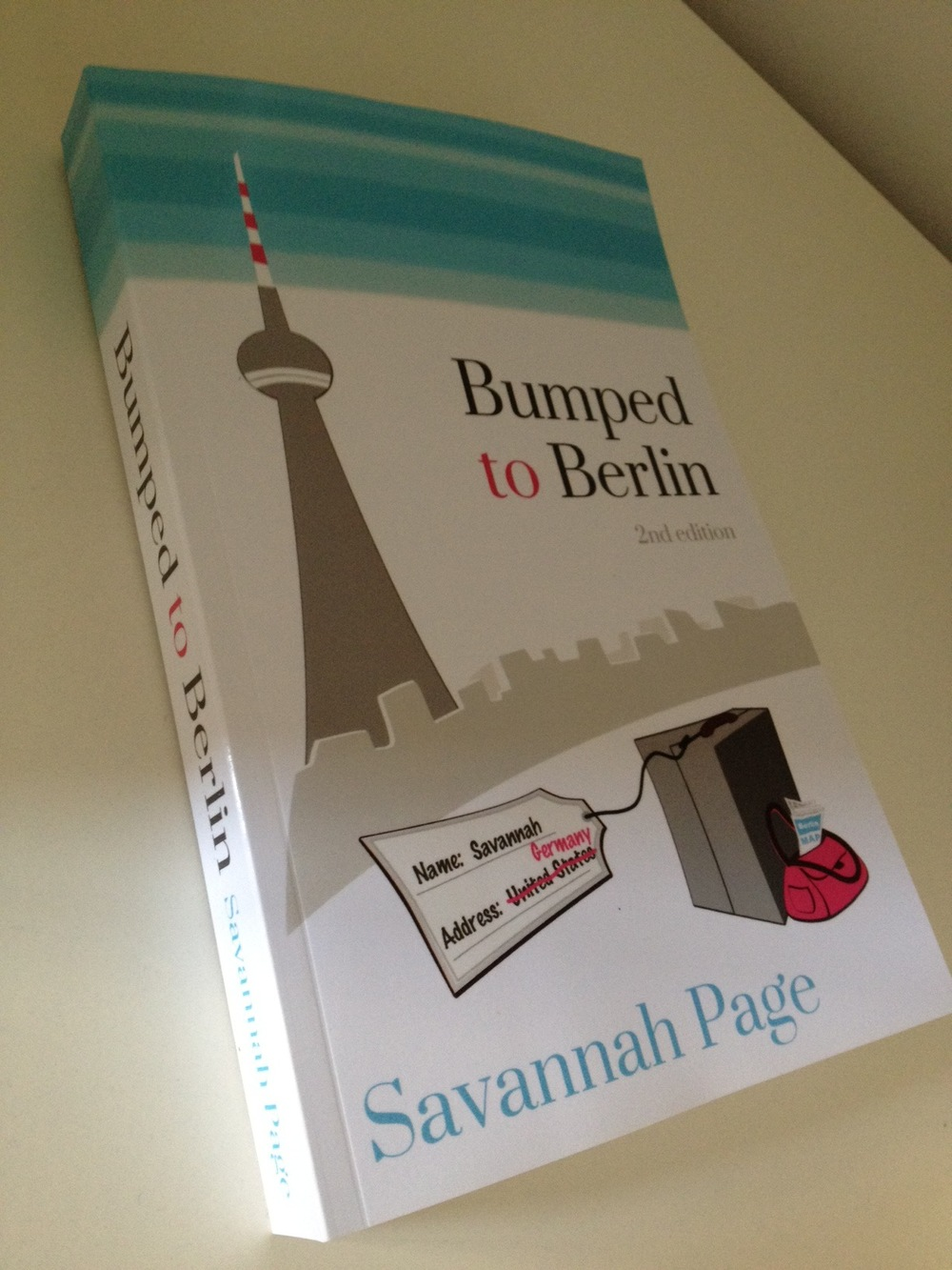 New Bumped to Berlin Edition Out - Savannah Page