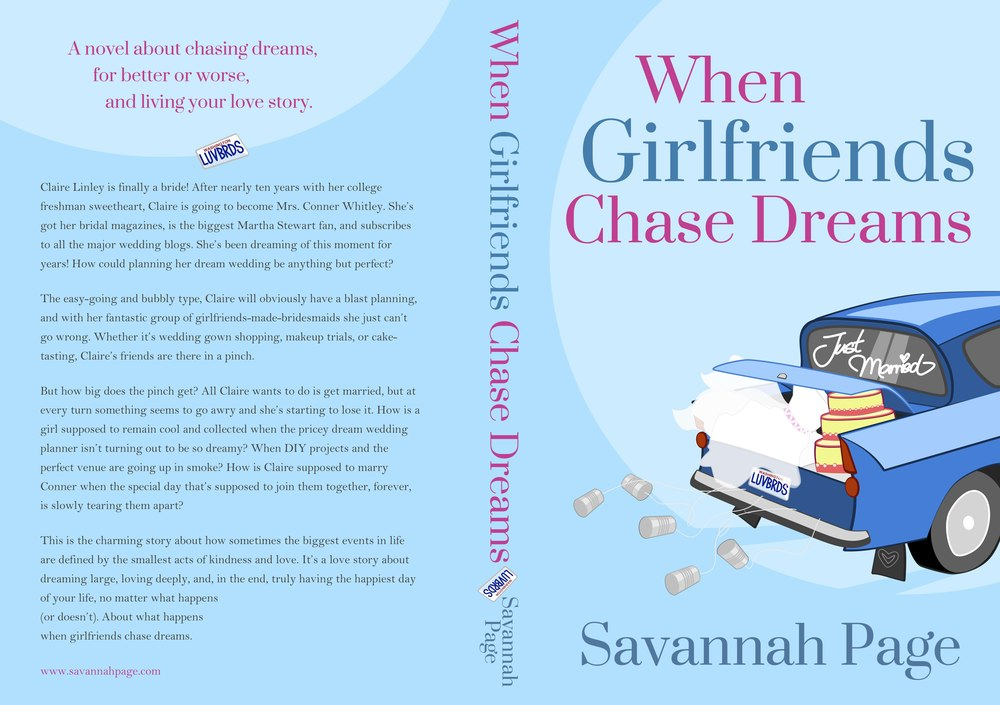 When Girlfriends Chase Dreams - PRINT