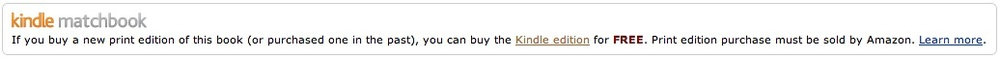 Kindle Matchbook - Savannah Page