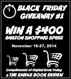 Win $400 Amazon Gift Card Black Friday Giveaway Kindle Book Review - Savannah Page