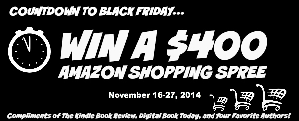 $400 Amazon Shopping Spree for Black Friday Giveaway Kindle Book Review - Savannah Page