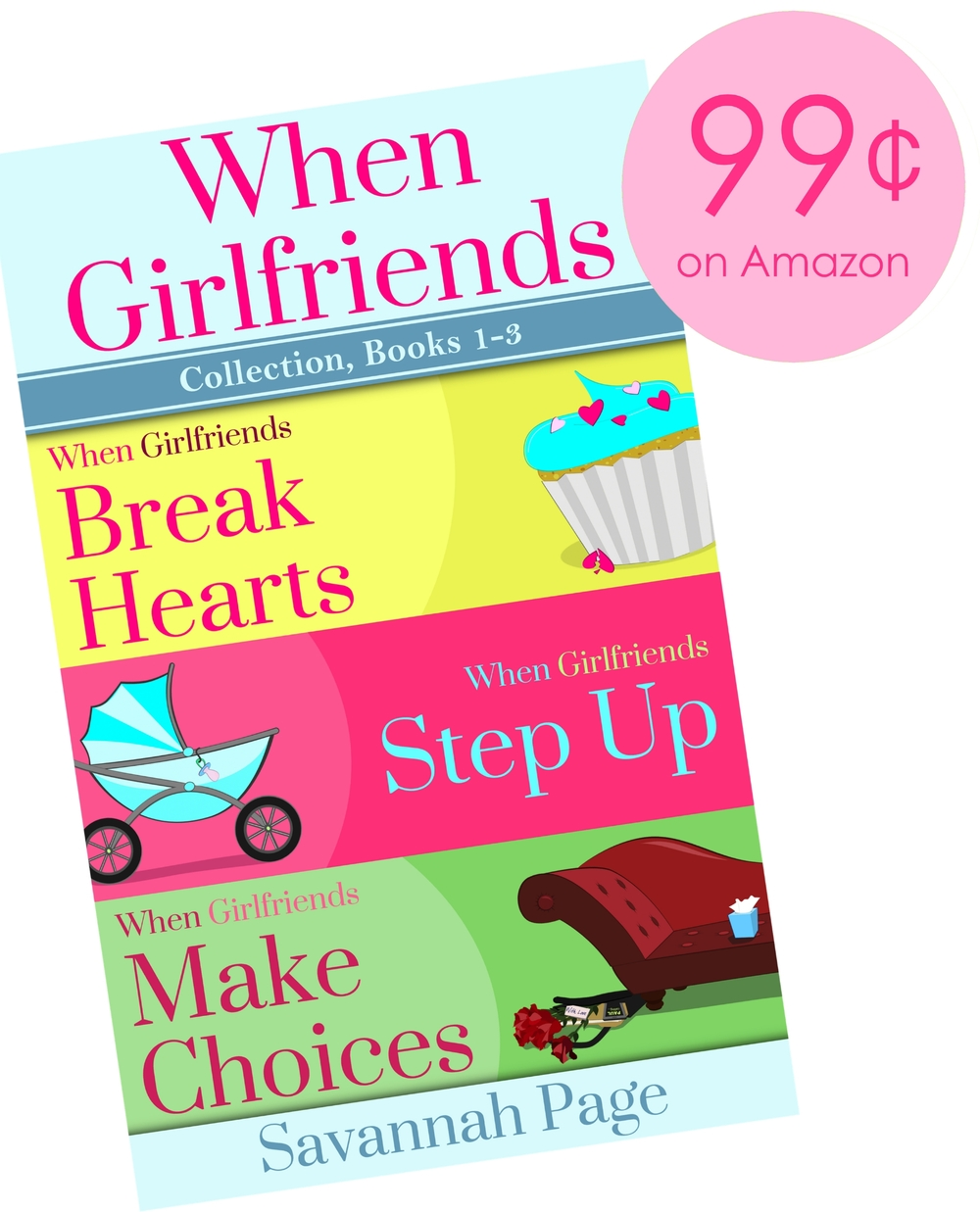 PROMO IMAGE When Girlfriends Collection Books 1-3