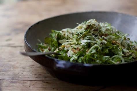 Shaved Fennel Salad  by Heidi Swanson at  101 Cookbooks . Healthy & simple.