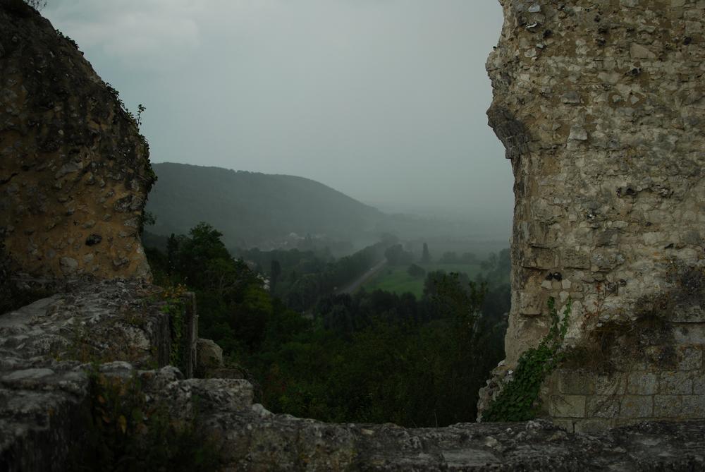 View from Château Gaillard